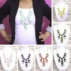 Teardrop Bubble Necklaces only $7.99