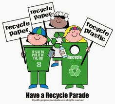 DIY Recycle Parade And Recycle Costume Have a Recycle Parade for Earthday, Earth Month, America Recycles Day, or Any Other Day! #Earthday #kids #teachers #preschool