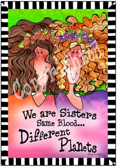 Sisters – 8x10 Gifty Art 1