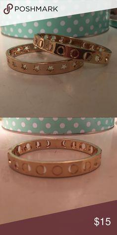 Bracelet set moons and stars Bracelet set moons and stars. Star bracelet closes loosely Jewelry Bracelets