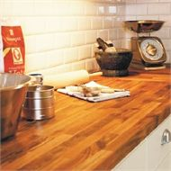 Interbuild 2200 x 600 x 26mm Acacia Solid Oiled Hardwood Project Panel