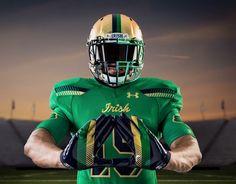 2bc641564 2015 Shamrock Series unis for Notre Dame