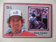 Gary carter #autographed 1983 #donruss baseball card - hall of #famer,  View more on the LINK: http://www.zeppy.io/product/gb/2/282047281985/