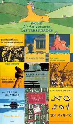 25 aniversario de la magnífica colección  Las Tres Edades de la editorial  Siruela