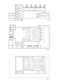 Novo Teatro no Porto Santa Maria / Daroca Arquitectos