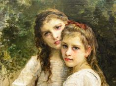 Detail: Dans le Bois (In the Woods), William A Bouguereau (French, Permanent Collection, Frye Art Museum. Pre Raphaelite Paintings, Name Covers, William Adolphe Bouguereau, Art Museum, Woods, Photographs, French, Detail, Fictional Characters