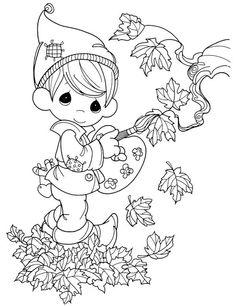 Skřítek Podzimníček