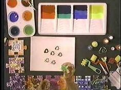 Free Preschool Art Activity 6a, BioColor Open-Ended Art