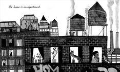 Development work for 'Home' by Carson Ellis