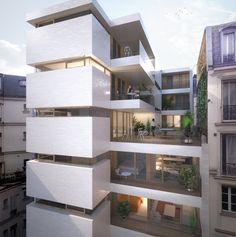 22 Logements neufs et réhabilités - Bouygues Immobilier - Antonini Darmon