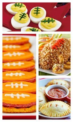 Kid-friendly #football snacks - Motherhood on the Rocks