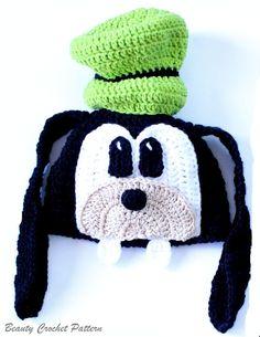 Crochet Pattern Goofy Hat Goofy Hat by BeautyCrochetPattern