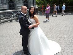 Karan and James' elopement to Belvedere Castle Terrace