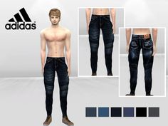 Allen Fade And Spot Urban Jeans by McLayneSims at TSR • Sims 4 Updates