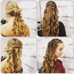 """Hair Reflection is committed to hair cut & color excellence with a full range of salon & spa located in the heart of Pickering. """"Specializing in Keratin"""" Hair Salons in Pickering Keratin Hair, Cut And Color, Reflection, Curls, Salons, Hair Cuts, Dreadlocks, Hair Styles, Beauty"""