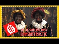 Zie je Sinterklaas? - Dansinstructie - YouTube