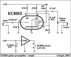 12SL7 SRPP / PushPull EL34, KT77, 6L6GC, 6550, KT88, KT90