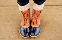 LL Bean hunting boots
