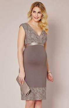 16083875934f1 Twilight Lace Maternity Dress Mocha by Tiffany Rose-Soft