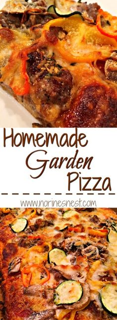 Homemade pizza recipe made with Wawalka premade pizza crust and lots of Garden Veggies. It's AMAZING! Cheesy Pizza Recipe, Pizza Recipes, Dinner Recipes, Healthy Recipes, Homemade Pizza Pockets, Making Homemade Pizza, Easy To Make Snacks, Gluten Free Pizza, Southern Recipes