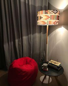 Reading corner with beanbag Room Corner, Minimalist Apartment, Bean Bag, Bedrooms, Curtains, Living Room, Cool Stuff, Reading, Modern