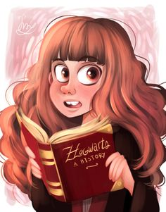 Hermione Granger - In the Harry Potter exhibition that opened in Belgium. - by Crispy ★ Harry Potter Fan Art, Harry Potter Drawings, Harry Potter Universal, Harry Potter Exhibition, Classe Harry Potter, Harry Potter Jk Rowling, Draco And Hermione, Animation, Fantastic Beasts