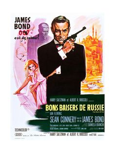 From Russia with Love (aka Bons Baisers De Russie) Art Print at AllPosters.com