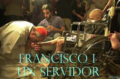 Pope Francis (Cardinal Bergoglio), visits AIDS patients and dying children in the hospital in Argentina. Viva Pope Francis!