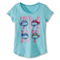 a330b964a92 Girls Teenage Mutant Ninja Turtles TMNT Shirt New with Tags Size Lg 10 12  BNWT