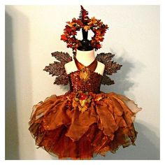 Items similar to fairy costume - AUTUMN WOODLAND Fairy - made to order... ❤ liked on Polyvore featuring costumes, fairy costume and fairy halloween costumes