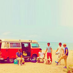 I honestly think that's the cutest mini van ever.  One Direction