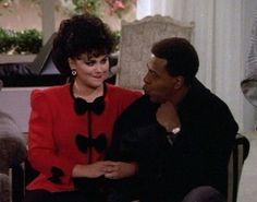 "Delta Burke & Meshach Taylor 'Suzanne & Anthony' ""Designing Women"" Delta Burke, Favorite Tv Shows, My Favorite Things, Tv Actors, Taylor S, Designing Women, Collages, Movie Tv, Fans"