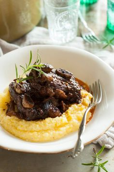 Clean Eating Rosemary Braised Short Ribs Recipe short ribs in oven