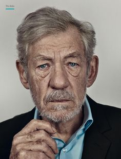 from Professional Photo 111 sampler Best Portraits, Celebrity Portraits, Creative Portraits, Old Man Face, Ian Mckellen, Old Faces, Human Reference, Interesting Faces, Male Face