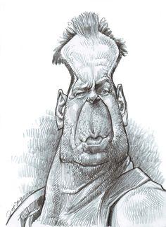 Jan Op De Beeck (1958) < Bruce Willis (1955), attore, produttore cinematografico e musicista >