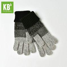 15.00$  Buy here - http://vinck.justgood.pw/vig/item.php?t=jsk8mnt31784 - [KBB] Xmas Fashion Women Ladies Gray Lambswool Knit Winter Whole Gloves