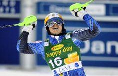 Men's World Cup Slalom Ski Racers - 2015 Race 4: Jens Byggmark - Sweden