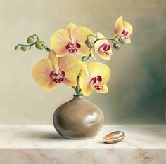 Hyper Realistic Flower Masterpieces by Pieter Wagemans