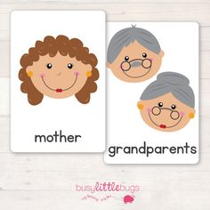 Family Flash Cards AUTOMATIC DOWNLOAD