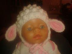 Lamb hat 3-6months