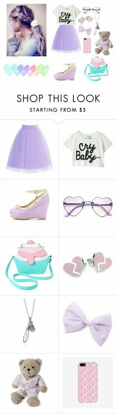 Style yourself with this cute purple outfit