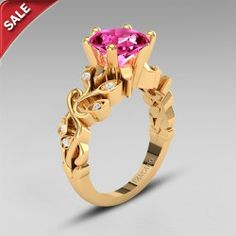 Round Cut Lab-created Ruby 925 Sterling Silver With 10K Gold Plated Vintage Ring