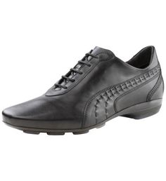7684e62a3aa3b PUMA Estralto Herren-Schuh  Herren Leder Schuh aus der Black Label Linie   Edles
