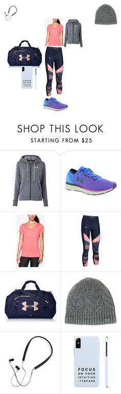 """Under Armour"" by jaydin-lee on Polyvore featuring Under Armour and Polaroid"
