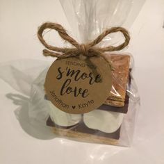 S'more Favor Kit S'more Love Customized Circle Tags