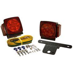 407540 // WESBAR Wesbar 3 x 8 Waterproof LED Over 80 Trailer Light Kit