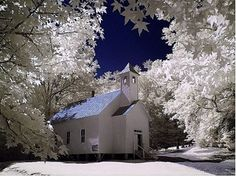 Baptist Church in Cades Cove, Tennessee