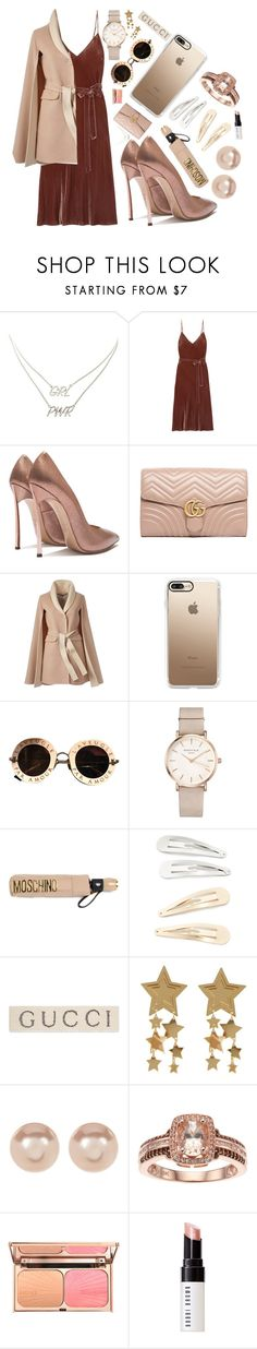 """""""// it's time to start thinking //"""" by velvetgirl10 on Polyvore featuring Charlotte Russe, Frame, Gucci, Casetify, ROSEFIELD, Moschino, Kitsch, Nordstrom Rack and Bobbi Brown Cosmetics"""