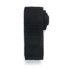 Men's Chaps Glacier Knit Tie, Black