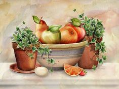 From the Orchard by Abby White ~ still life art
